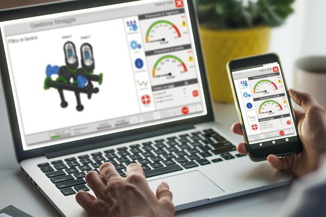 AquaPro e AquaPlan: software di automazione e progettazione per sistemi di irrigazione